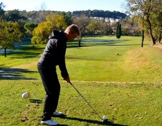 Position Adresse Swing - Parcours accompagné Victoria Golf